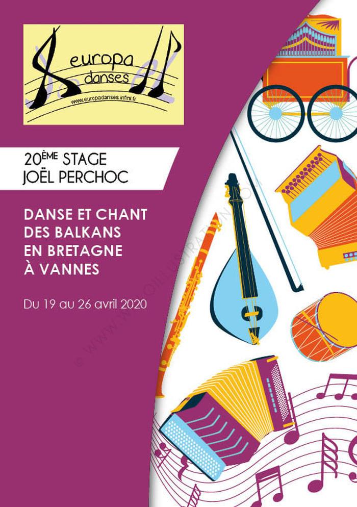 [ANNULE] <strike>Stage - danse et chant des Balkans en Bretagne</strike>