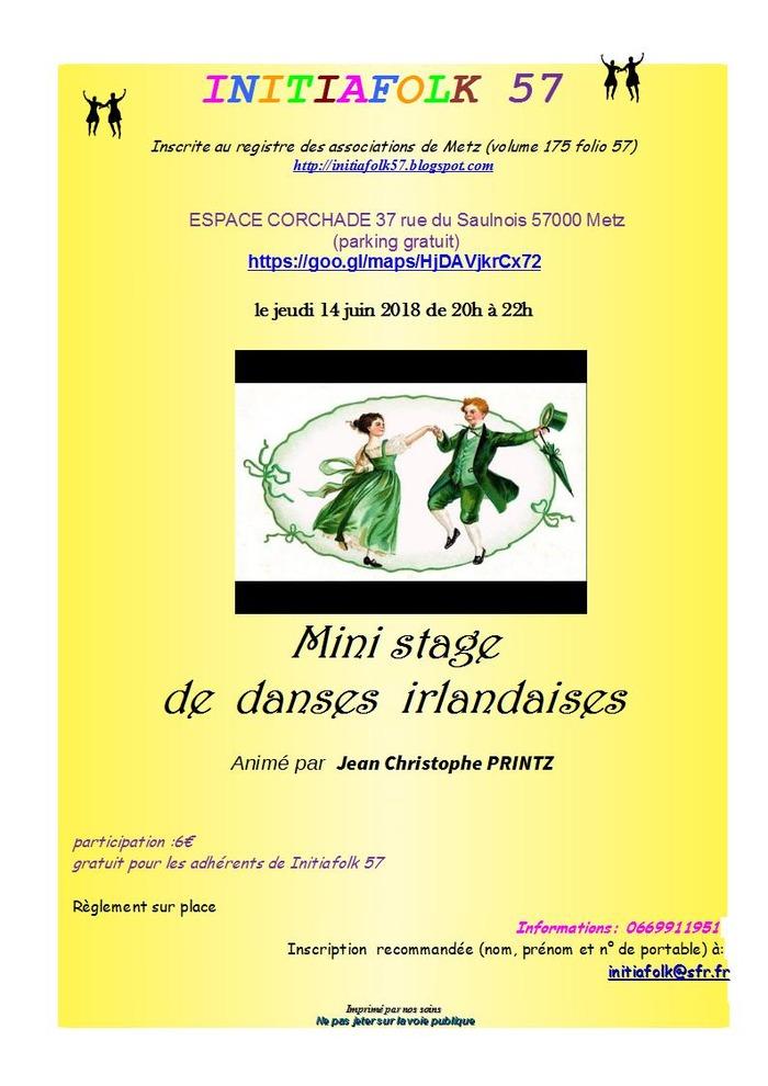 Stage de danses irlandaises