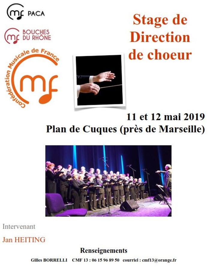 Stage de Direction de choeur / Plan de Cuques (près de Marseille)