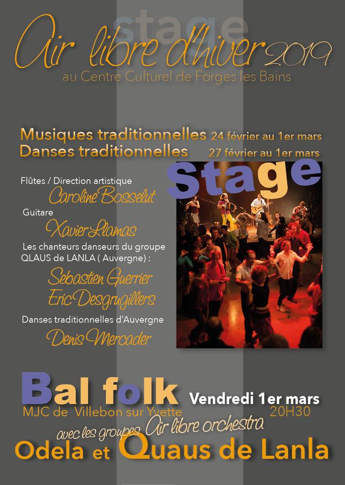 Stage de musiques et danses traditionnelles