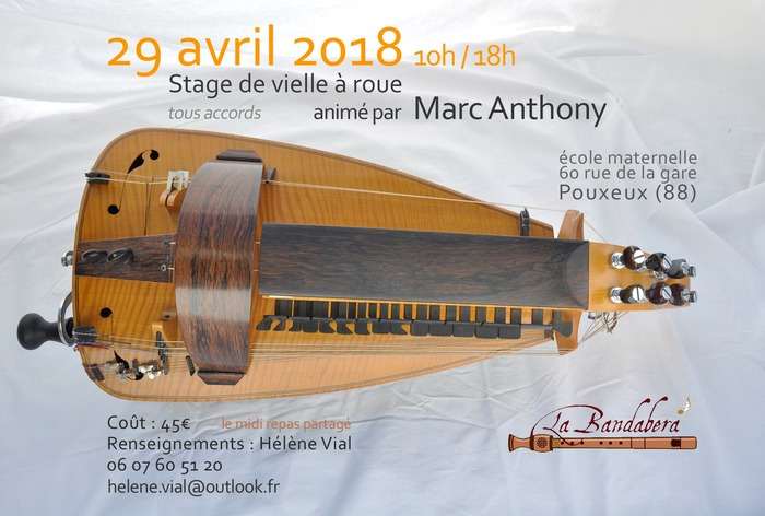 Stage de Vielle à roue animé par Marc Anthony