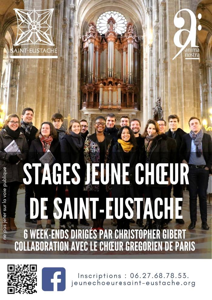 Stages Jeune chœur de Saint-Eustache