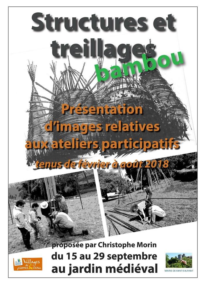 Journées du patrimoine 2018 - Structures et treillages en bambou