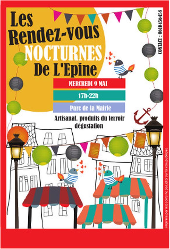 sur l'île de Noirmoutier : 1er marché nocturne de l'année
