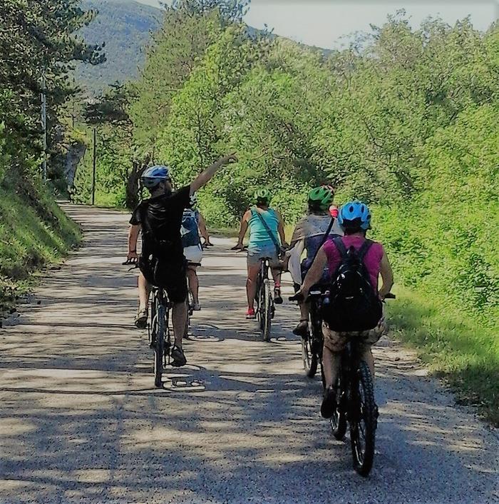 Journées du patrimoine 2018 - Sur la route des Huguenots à vélo électrique.