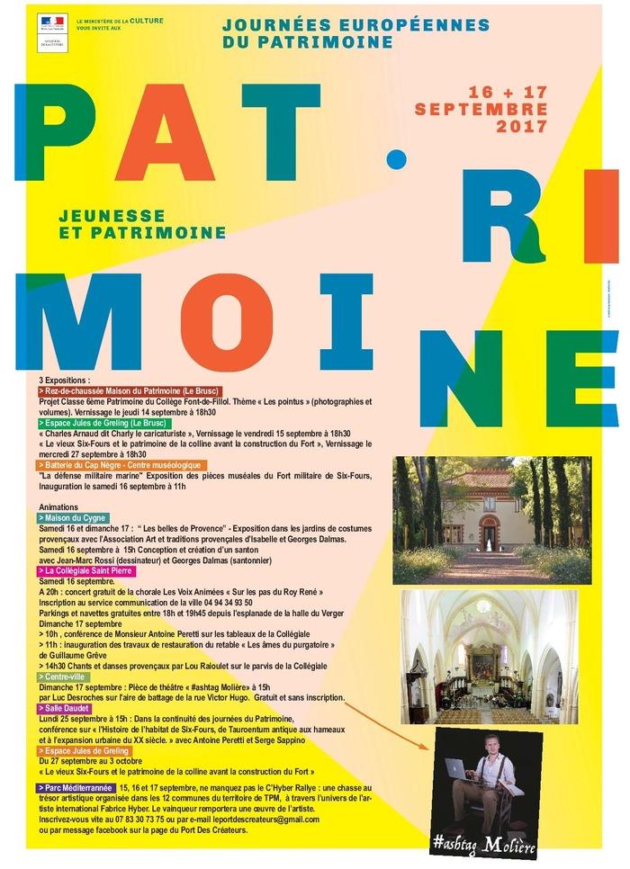 Journées du patrimoine 2017 - Sur les pas du Roy René