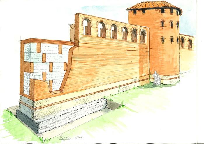 Journées du patrimoine 2018 - Sur les traces du rempart romain de Toulouse