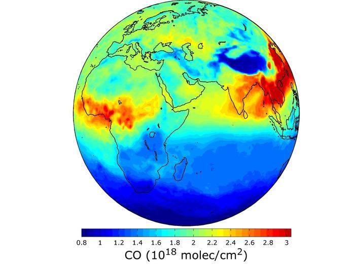 Surveiller la composition de l'atmosphère depuis l'espace