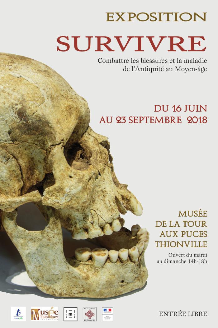 Journées du patrimoine 2018 - Survivre, combattre les blessures et la maladie de l'Antiquité au Moyen Âge