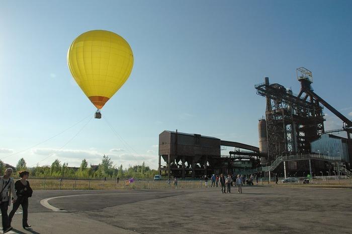 Journées du patrimoine 2018 - Survol en montgolfière