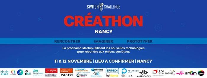 SwitchUp Challenge : le Créathon de Nancy