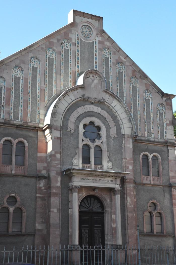 Journées du patrimoine 2018 - Visite libre de la synagogue de Thann