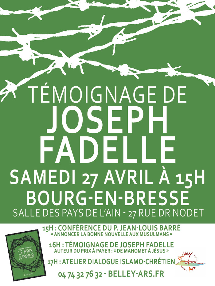 Témoignage de Joseph Fadelle