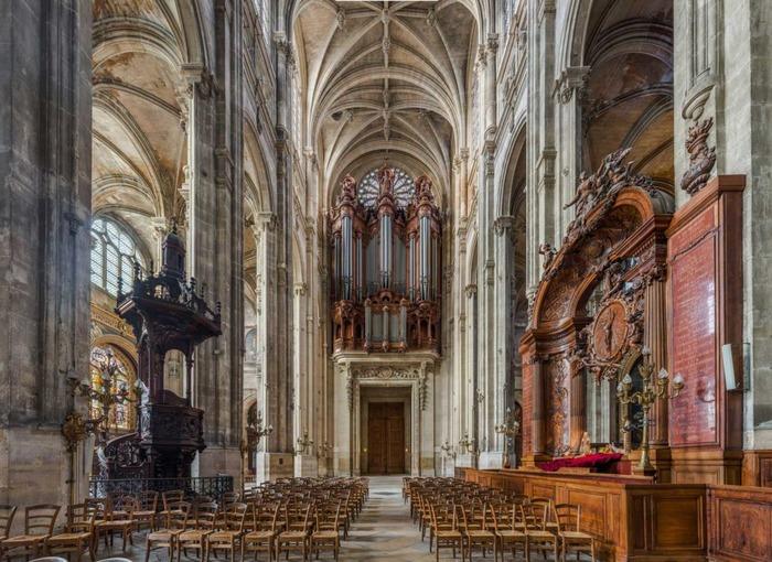 Temps d'oraison dans le chœur