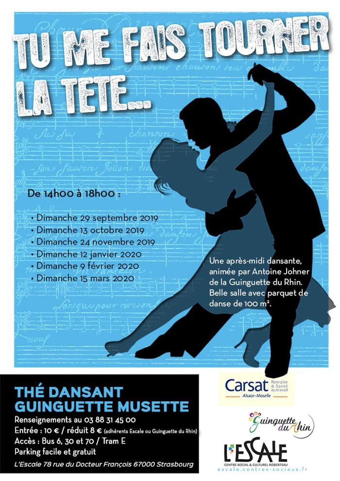 Thé Dansant Gunguette Musette