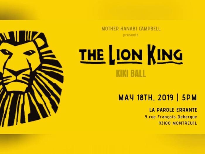 The LION KING KIKI BALL