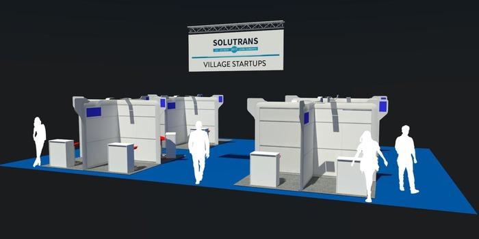 Le Village startups de SOLUTRANS du Hall 5