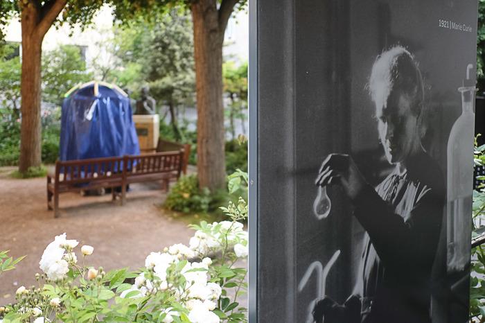 Journées du patrimoine 2018 - Théâtre déambulatoire - La patrouille des parapluies