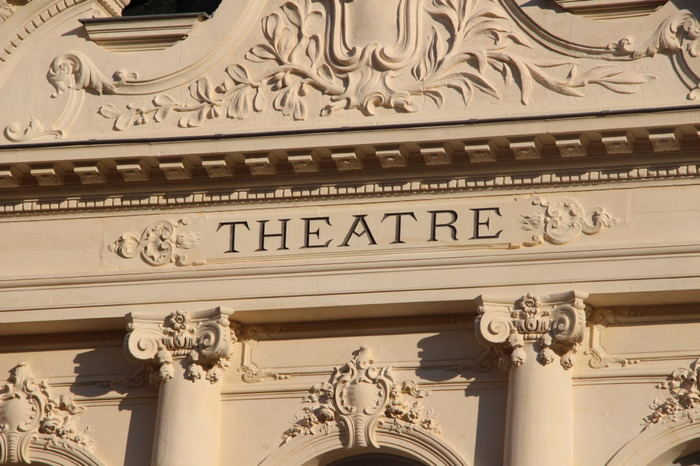 Journées du patrimoine 2018 - Visite guidée du théâtre municipal.