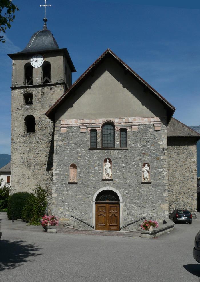 Journées du patrimoine 2018 - Théâtre sur le parvis de l'église.