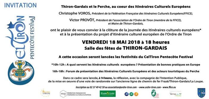 Thiron-Gardais et le Perche, au coeur des Itinéraires Culturels Européens !