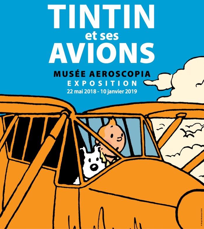 Tintin et ses avions
