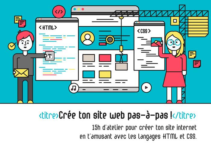 <titre>Créer ton site web pas-à-pas !</titre>