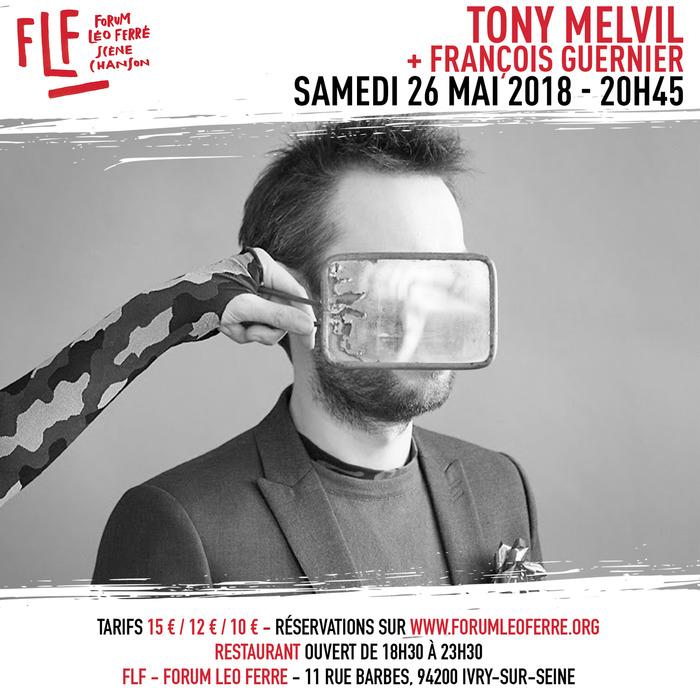 Tony Melvil + François Guernier au FLF - Forum Léo Ferré