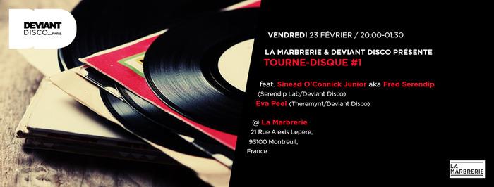Tourne-disque #1 : Eva Peel & Fred Serendip [Deviant Disco]