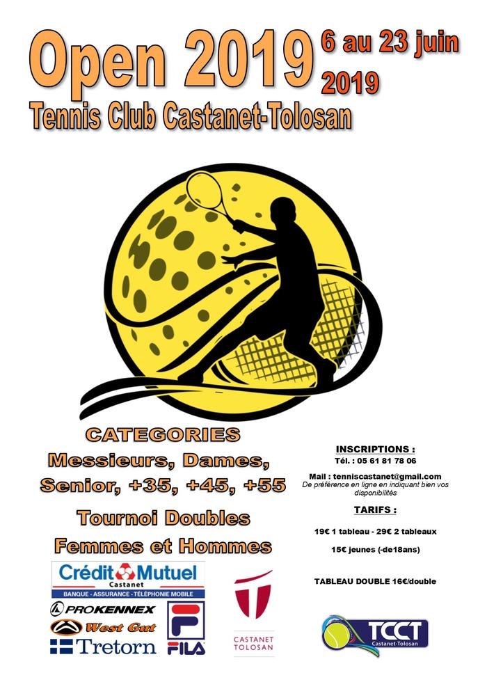 Tournoi Open 2019 de tennis