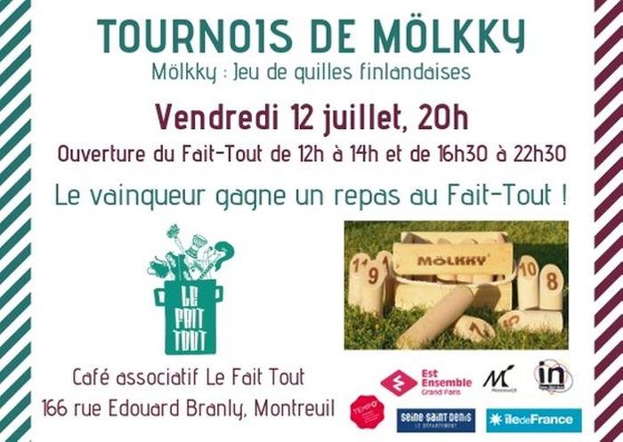 Tournois de Mölkky au Fait-Tout