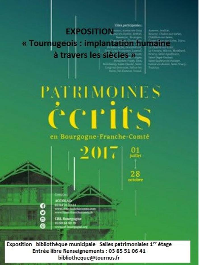 Journées du patrimoine 2017 - Tournugeois : implantation d'une population à travers les siècles