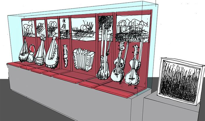 Journées du patrimoine 2018 - Exposition « Toute une vitrine pour la musique »