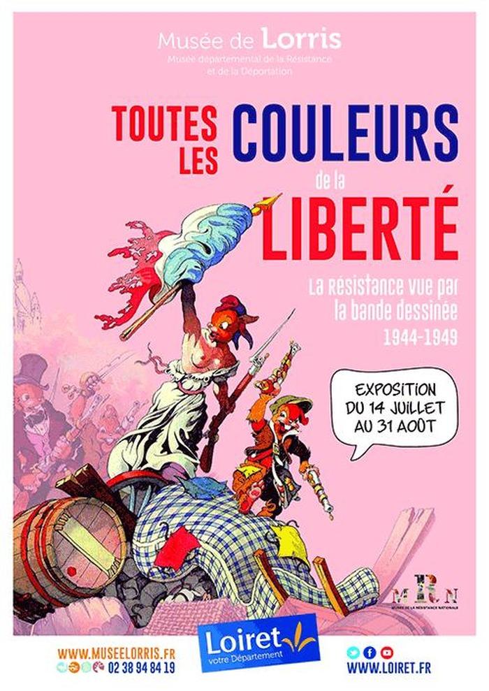 Toutes les couleurs de la liberté, la Résistance vue par la bande-dessinée 1944…