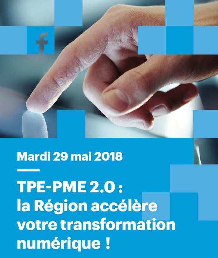 TPE-PME 2.0 : la Région accélère votre transformation numérique !