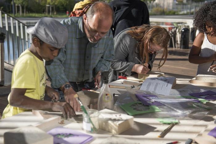 Journées du patrimoine 2018 - Tract, marque page orné à Pierrefitte-sur-Seine