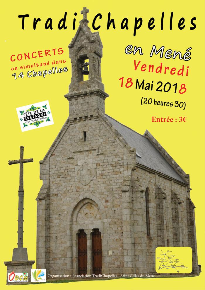 Tradichapelles : musique traditionnelle à la Chapelle St Brieuc-des-Bois