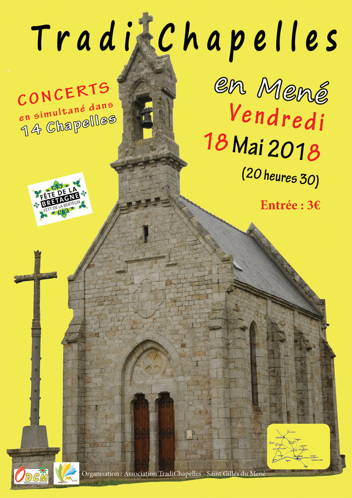 Tradichapelles : Musique traditionnelle à la Chapelle Saint-Roch