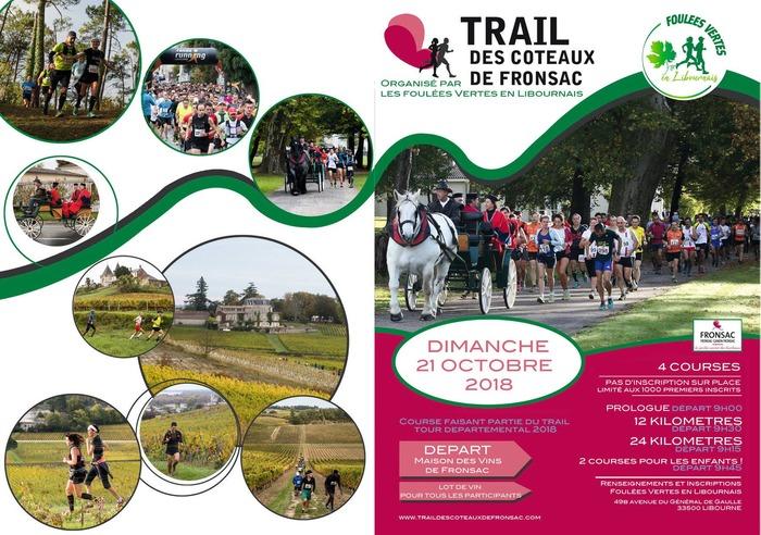 Trail des coteaux de Fronsac