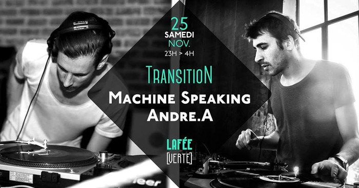 Transition w/ Machine Speaking - Andre.A