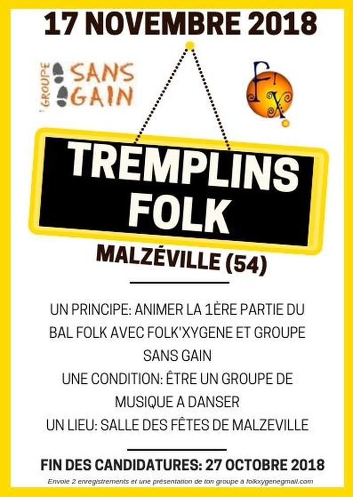 Tremplins Folk