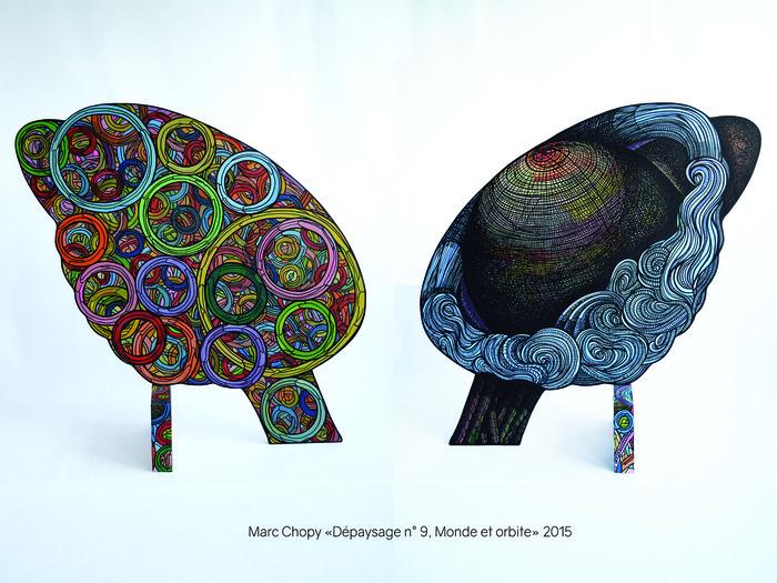Journées du patrimoine 2018 - Exposition de Marc Chopy