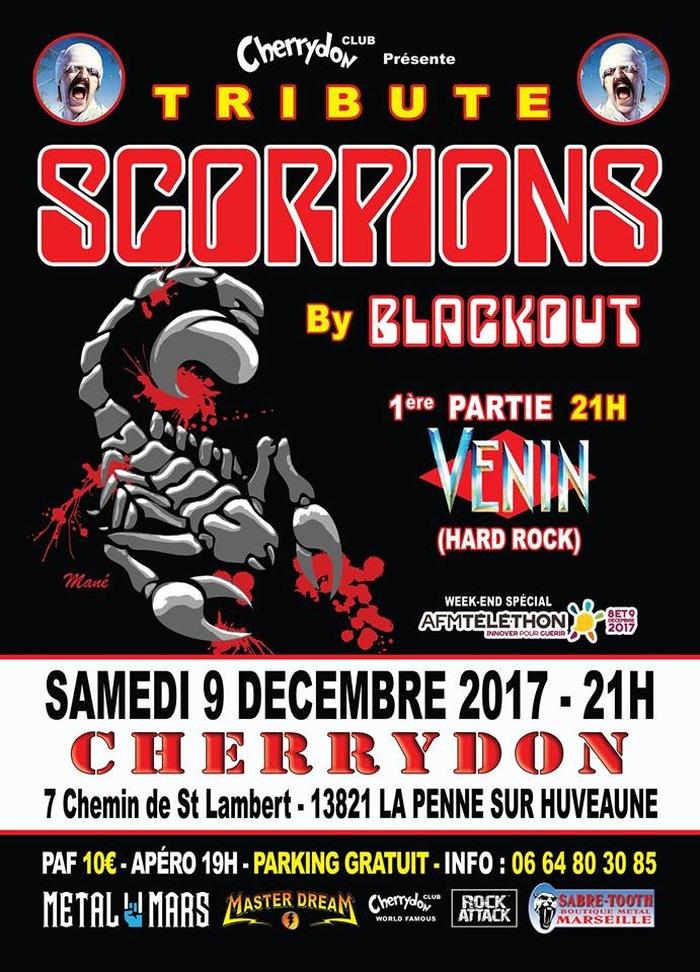 Tribute Scorpions By Blackout + 1ère partie Venin