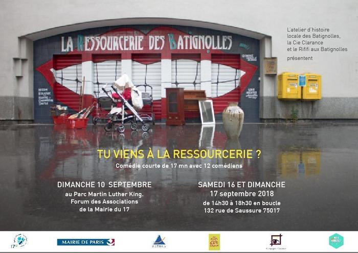 Journées du patrimoine 2017 - Spectacle de théâtre
