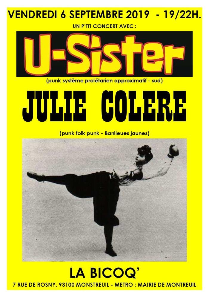 U-SISTER + JULIE COLERE