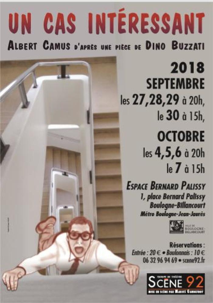 Un cas intéressant d'Albert Camus à l'Espace Bernard Palissy à Boulogne-Billancourt