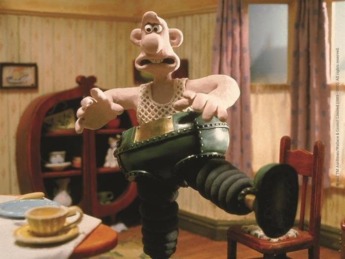 Un ciné avec Wallace et Gromit !