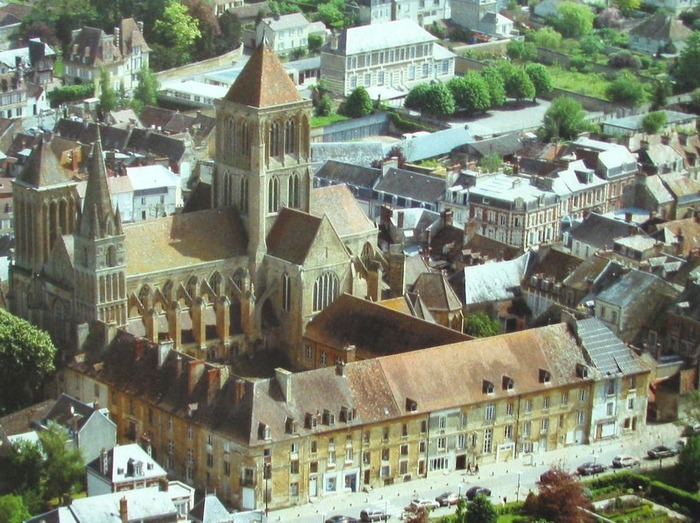 Crédits image : Abbaye de Saint-Pierre-sur-Dives