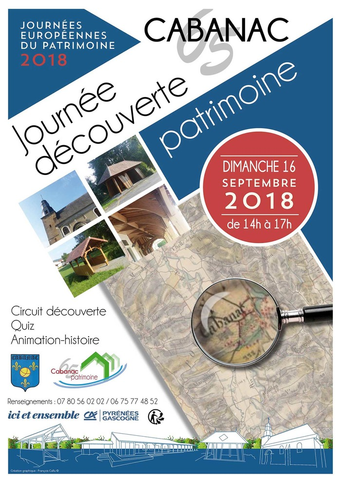 Journées du patrimoine 2018 - Jeu de piste autour du patrimoine du village
