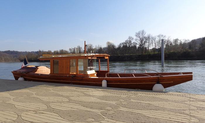 Crédits image : © 2016 La Compagnie des Canotiers Rhône et Saône